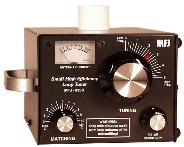 MFJ-935B Loop Tuner mit Antennen Strommessgerät