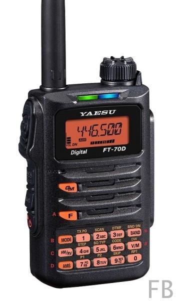 Yaesu FT-70DE 2m/70cm C4FM/FM