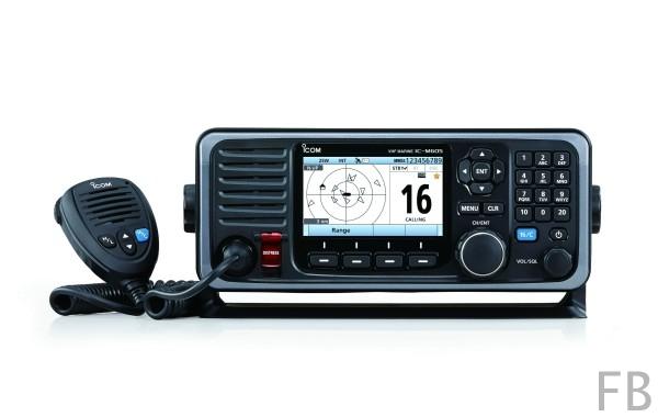 IC-M605EURO VHF/DSC UKW Seefunkgerät mit AIS Empfänger eingebaut