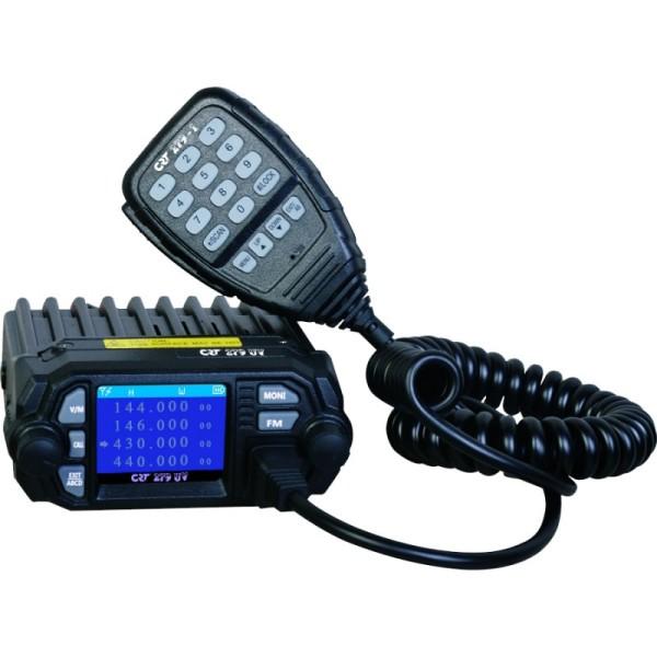 CRT 279 UV VHF/UHF Dualband Mobilfunkgerät mit USB Programmeradapter