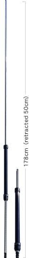 Diamond RHM-8B BNC Antenne für 7 bis 50 MHz einstellbar
