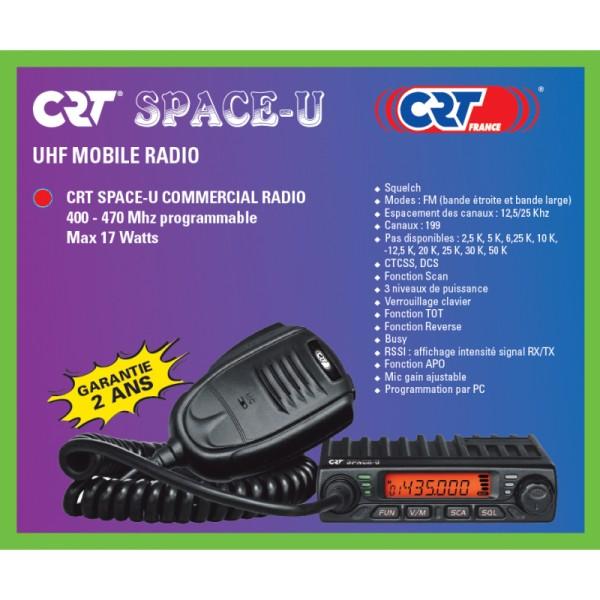 CRT SPACE-U UHF Mobilfunkgerät 400-470MHz 17Watt