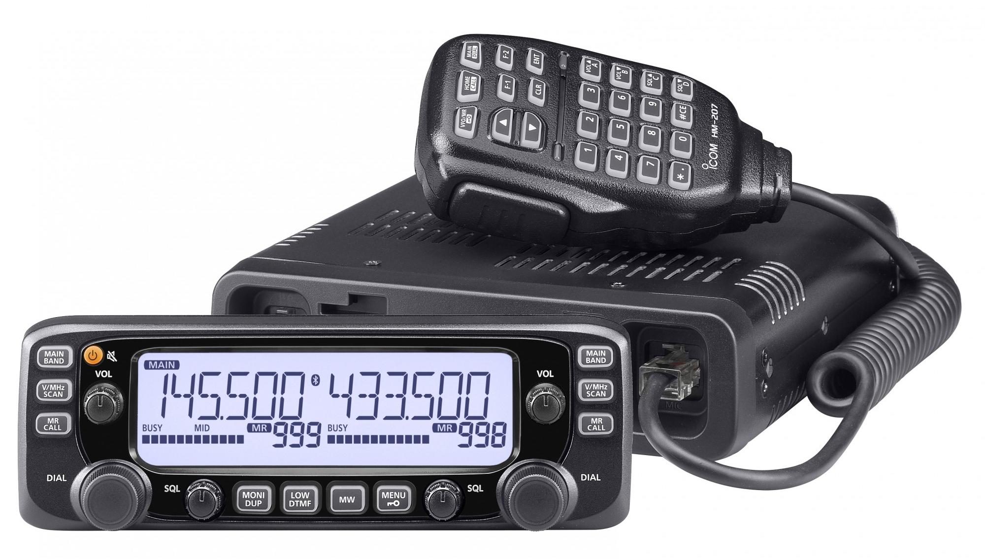 Icom Ic 2730e Vhf Uhf Dualband Amateurfunkgert Mit Bis Zu 50 Watt 484 Am Radio Receiver Sendeleistung Und Abnehmbarem Bedienteil Funktechnik Bielefeld Professionelles