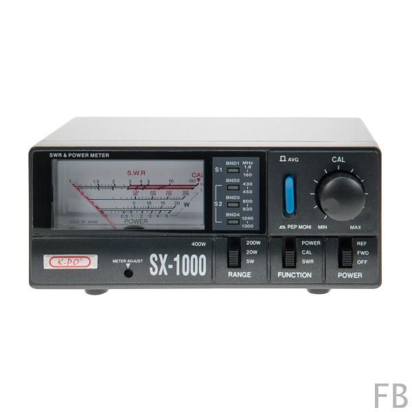 K-PO SX-1000N SWR/Wattmeter von 1,8 - 1300 MHz