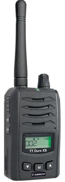 Albrecht Tectalk Duro XS kompaktes semiprof. PMR446 Handfunkgerät