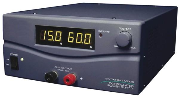SPS-9600 Schaltnetzteil 1-15V 60A mit 2 Digitalanzeigen