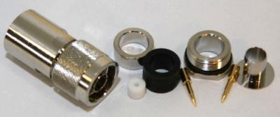 N-Stecker für H 2000 Flex, H 1000, RG 213U, Aircom Plus, Ecoflex