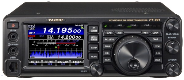 Yaesu FT-991 HF/50/144/430 MHz Stations Transceiver