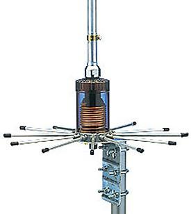 Sirio S 2020 CB-Stationsantenne mit 20 Radials und 610cm Länge