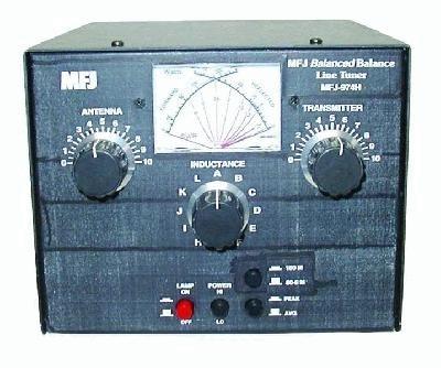 MFJ-974HB Antennentuner für symmetrische Antennen