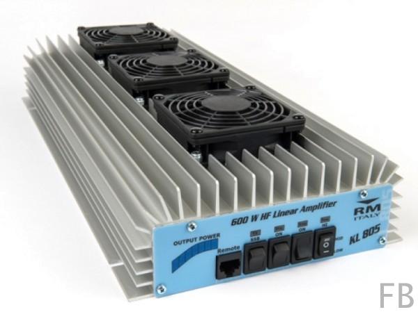 RM Italy KL 805 24-30 MHz 24 Volt 600 Watt Transistor Endstufe