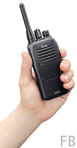 ICOM IC-F29SR2 prof. 16 Kanal PMR446 Handfunkgerät mit Zubehör 16 Kanäle