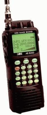 AOR AR-8200MK3 Handscanner für Frequenzen von 530 kHz bis 3000 MHz