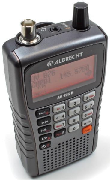Albrecht AE 125H 500 Kanal Handscanner mit USB-Anschluss