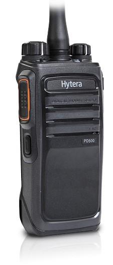 Hytera PD505LF digital/analog PMR446 Handfunkgerät komplett mit Zubehör
