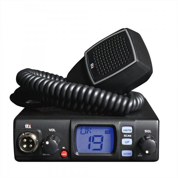 TTI TCB-560 CB Mobilfunkgerät für 12/24 Volt Multinorm