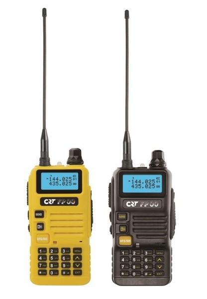 CRT FP 00 Dual Band VHF/UHF Handfunkgerät Black