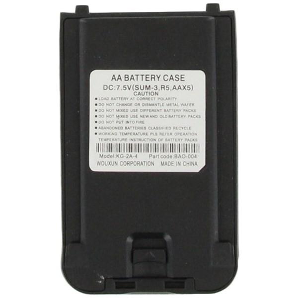 Wouxun BAO-004 Batterieleerfach für KG-UV8D