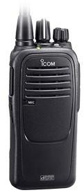 ICOM IC-F29DR analog/digital PMR 446 Handfunkgerät komplett mit Akku und Ladegerät
