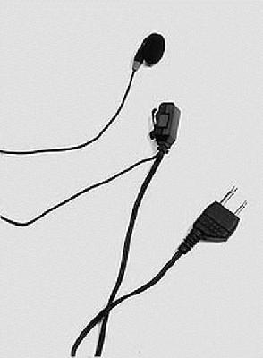 Albrecht AE HM 500 B Ohrhörer / Mikrofon Kombination