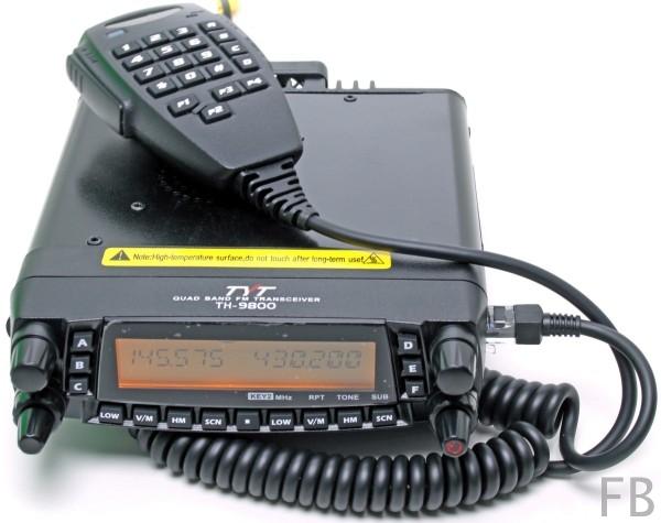 TYT TH-9800 Mobilfunkgerät 10m/6m/2m/70cm - Neuste Version Plus
