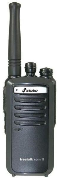 Stabo Freetalk Com II prof. PMR446 Handfunkgerät mit 2000 Lithium Ionen Akku