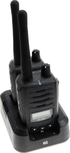 TTI TX-130U prof. PMR446 Handfunkgeräte TWIN-SET nach IP55