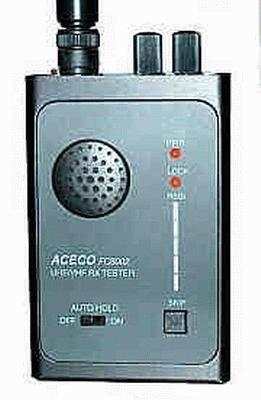 Aceco FC-5002 Wanzenfinder für 30-900 MHz mit PC-Schnittstelle