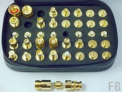 Adapter Satz mit Schutztasche HF-Stecker