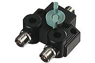 Diamond CX-210A 2fach Antennenschalter mit PL-Buchsen