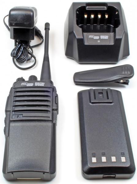 Polmar Digital Work analog / dPMR-446 Handfunkgerät mit Digitalfunktechnik