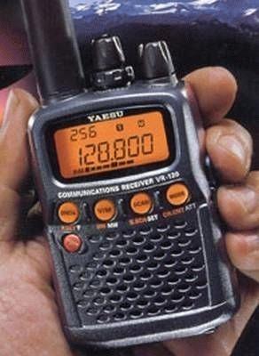 Yaesu VR-120D Handscanner 0,1-1300 MHz