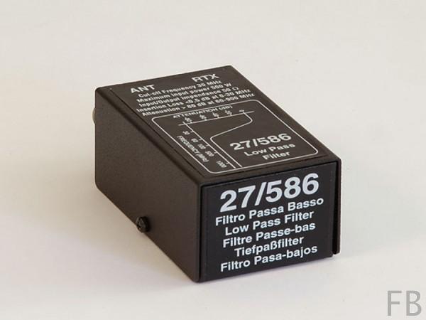 RM Italy 27/586 Tiefpassfilter gegen Radio und Fernsehstörungen