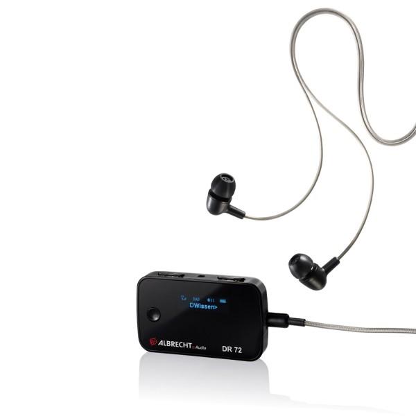 ALBRECHT DR 72 Mikro Digital-Taschenradio DAB+ / UKW und Bluetooth