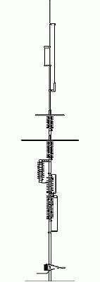 Butternut HF-9V 9 Band Vertikal