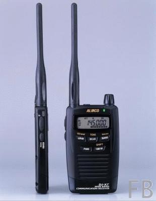 Alinco DJ-X7E Funkscanner 100 kHz bis 1300 MHz