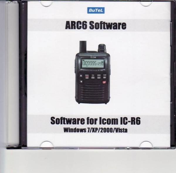 BuTel ARC-6 Software für Icom IC-R6