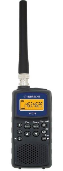 Albrecht AE 33H Handscanner für Flugfunk und Seefunk