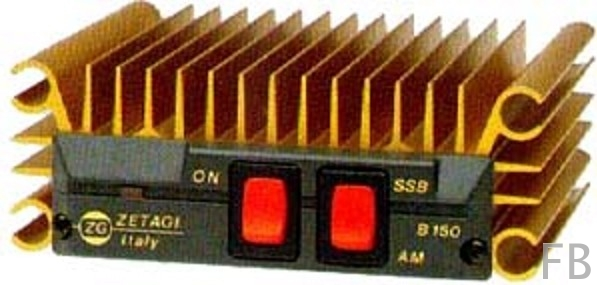 Zetagi B-150R HF-Leistungsverstärker 26-30 MHz bis ca. 100 Watt