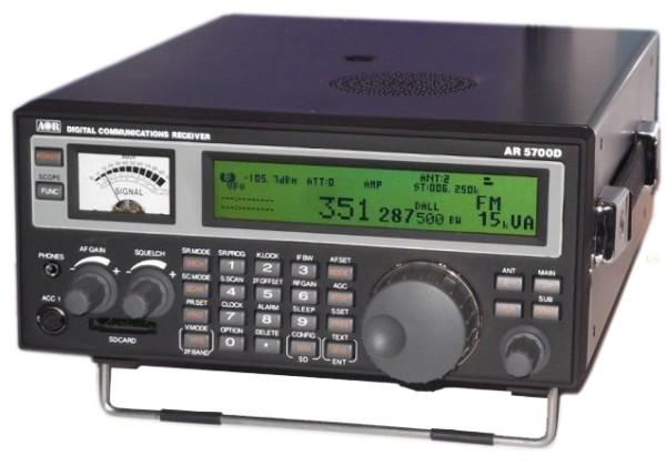 AOR AR5700D Digitaler Kommunikations Emfänger
