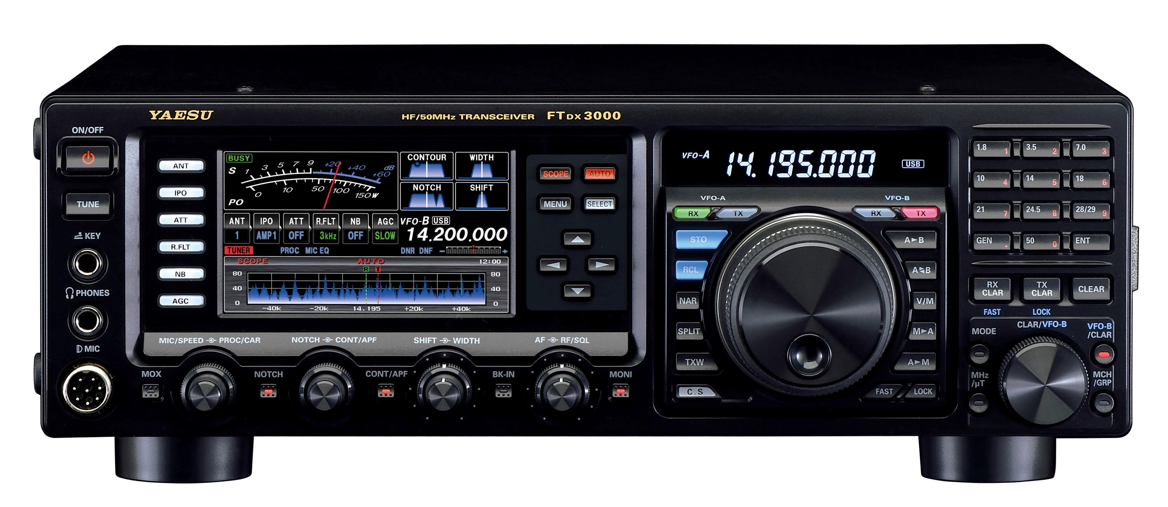 Yaesu Ft Dx3000d Amateurfunk 6m Band Amateurfunkgert Mit Kenwood Tk 840 940 941 Radio Interface Cable Description And Schematic Kurzwellen Amateurfunktransceiver Dsp Und 100 Watt Sendeleistung