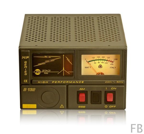 Zetagi B-132 100 Watt Transistor-HF-Verstärker mit Netzteil