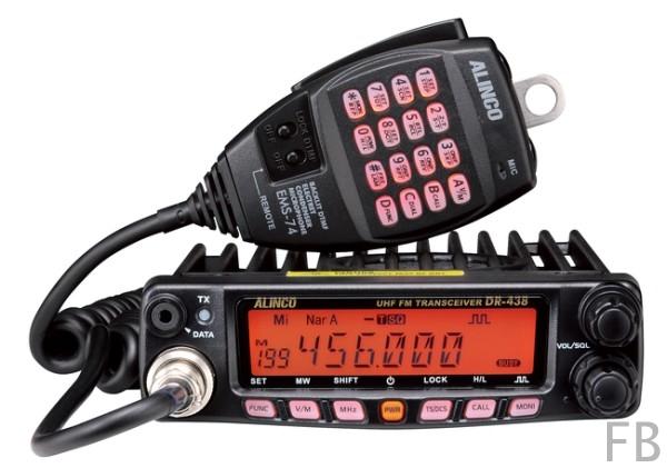 ALINCO DR-438-H Mobilfunkgerät UHF 70cm Band bis 45 Watt Sendeleistung
