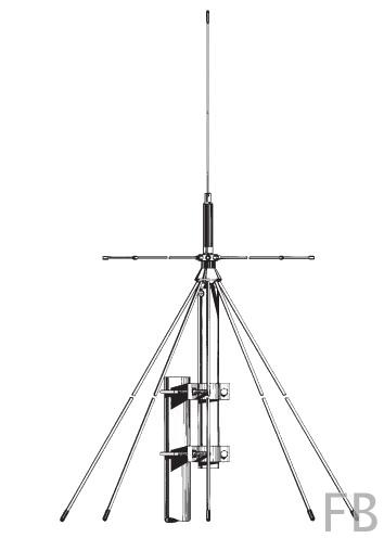 Sirio SD-1300N Discone Stationsantenne 25-1300 MHz