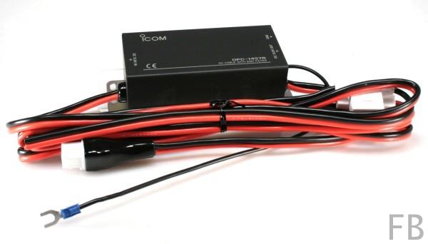 Icom OPC-1457R DC-Stromversorgungskabel mit Entstörfilter für IC ...