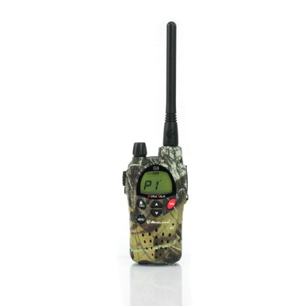 Midland G9 Plus Tarnfarben PMR+LPD Handfunkgerät Verbesserte Audioqualität