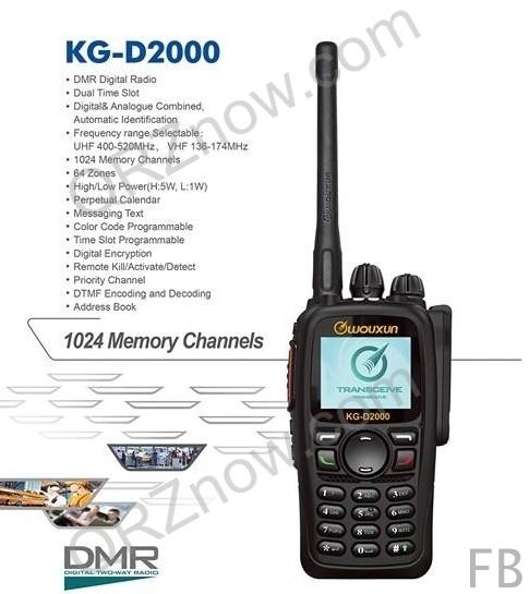 Wouxun KG-D2000