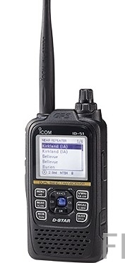 Icom ID-51 PLUS2 Dual Band D-STAR Digital Transceiver (schwarz)