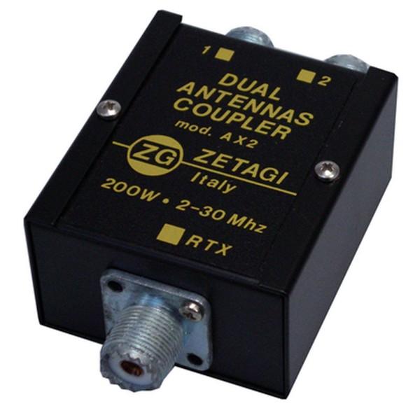 Zetagi AX-2 Dual Antennen Koppler