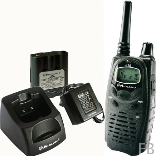 Midland G12 PMR446 Handfunkgerät mit vielen Funktionen